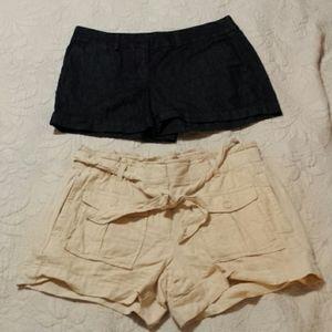 Bundle of Women's LOFT Shorts Size 2